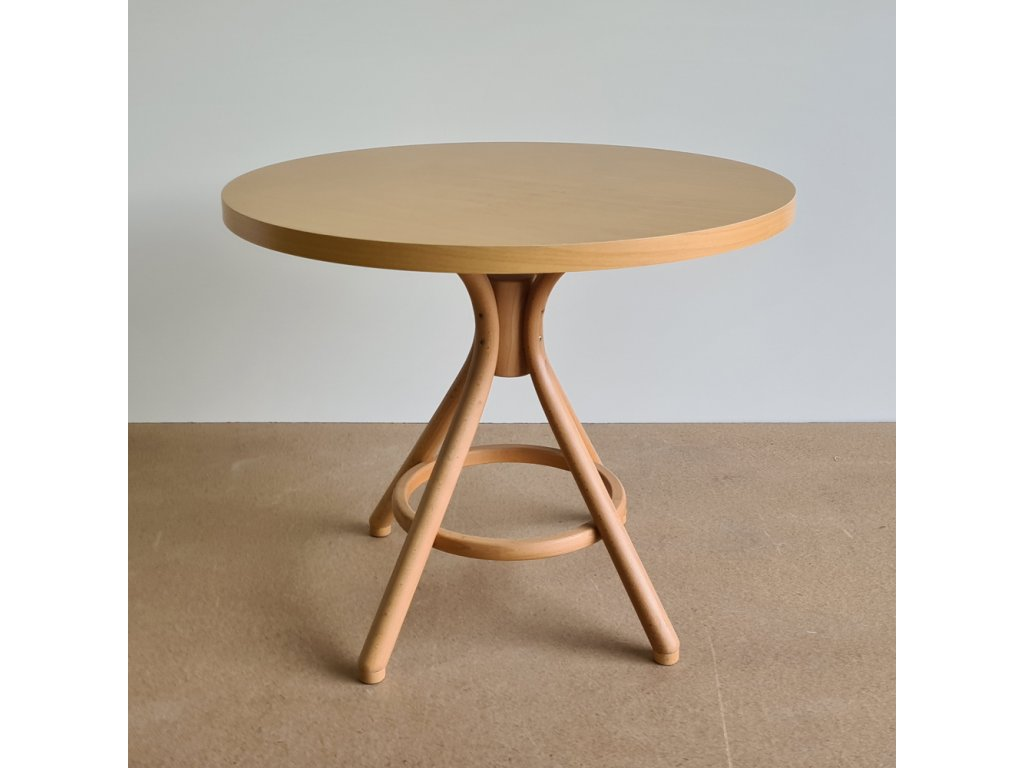 Kulatý stůl TON 155 90 cm
