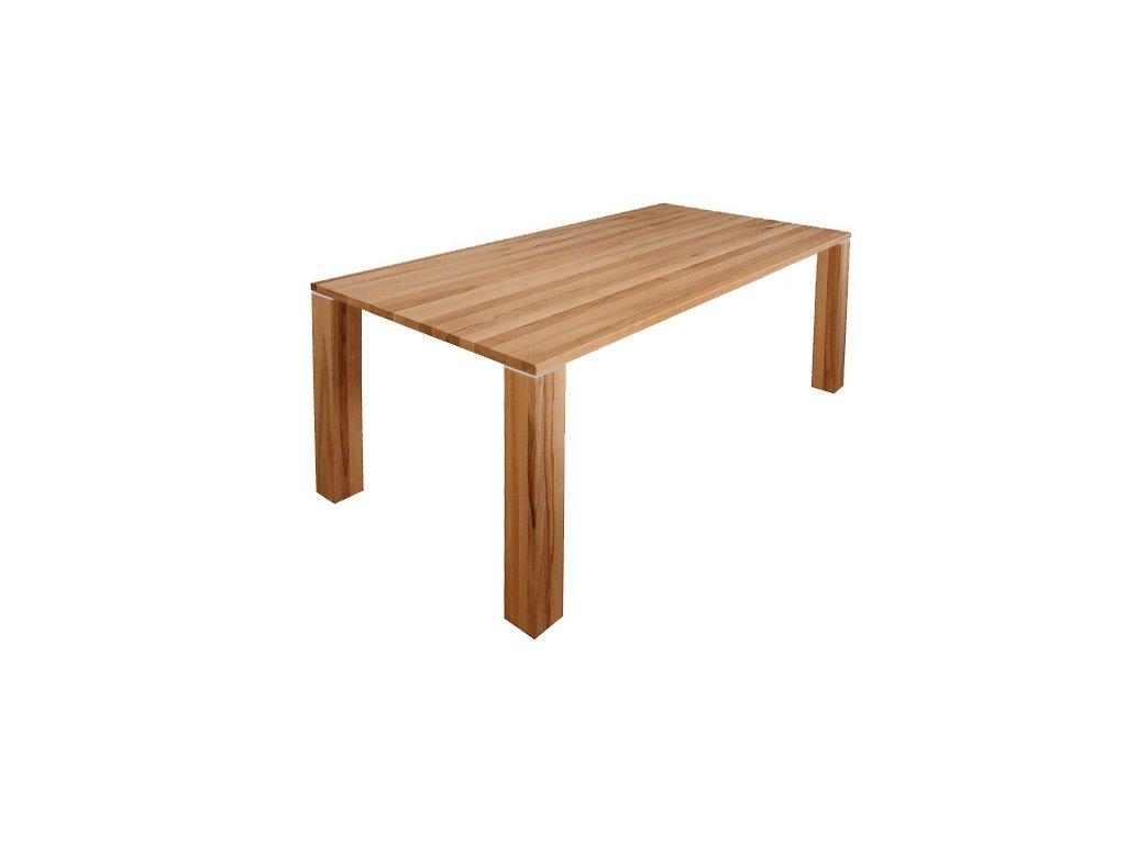 Jídelní stůl VERTE z bukového masivu - 90 x 160