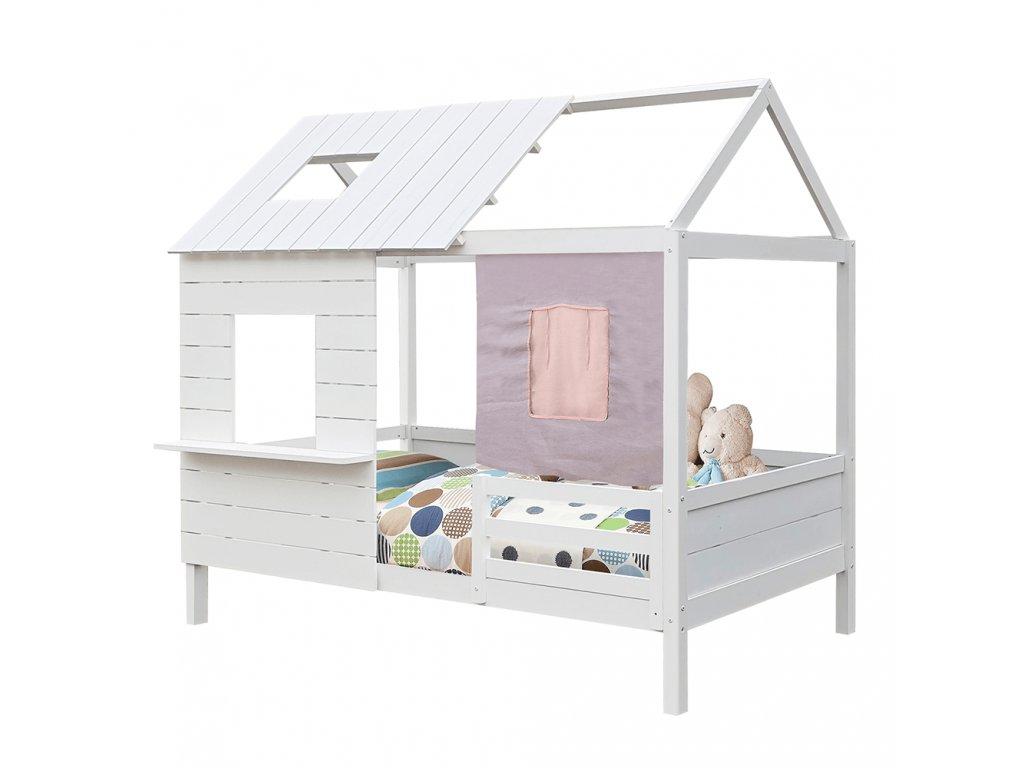 Montessori postel, bílá, 90x200, BIBIANA