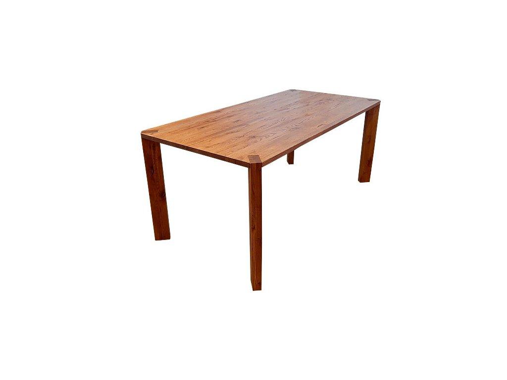 Jídelní stůl CUBIS 2018 pevný - masiv ořech