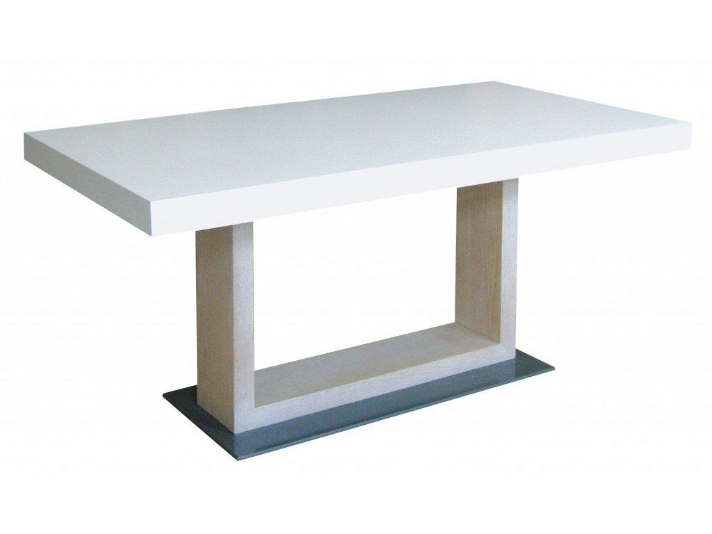 Pevný jídelní stůl NIKA - dýha