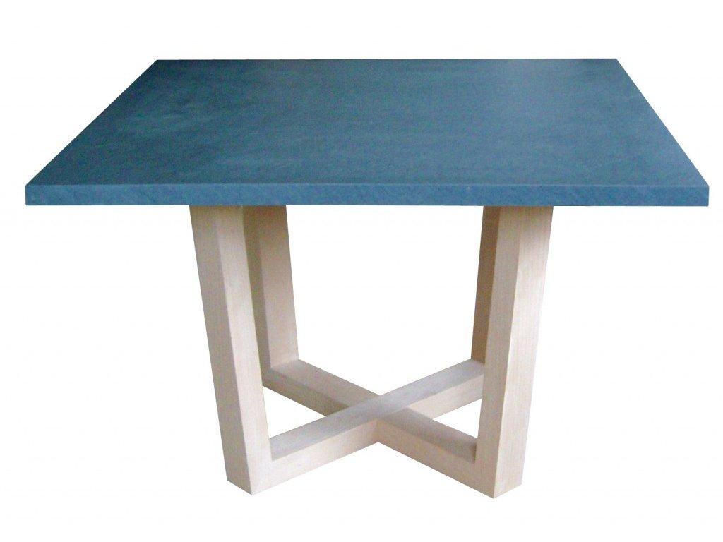 Dýhovaný jídelní stůl KONY