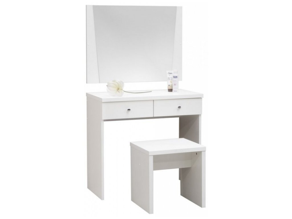 Toaletní stolek OMEGA se zrcadlem a taburetem