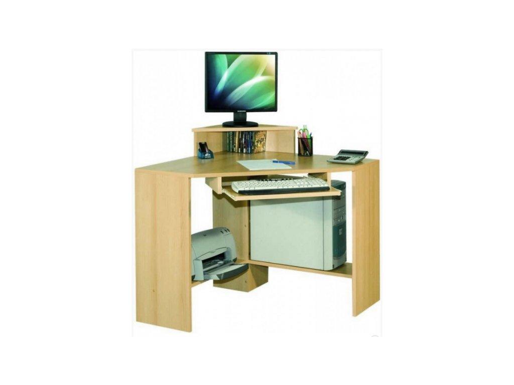 Rohový PC stolek ROLO
