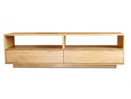 Masivní dubový TV stolek DUBINO