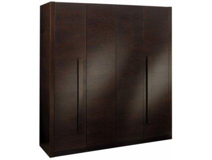 MILANO šatní skříň 4 dveřová
