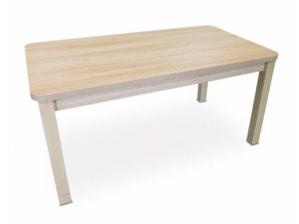 Rozkládací jídelní stůl TOMAN - dýha