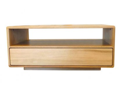 Masivní dubový konferenční stolek DUBINO