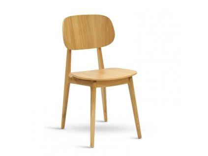 Židle BUNNY dub, sedák masiv
