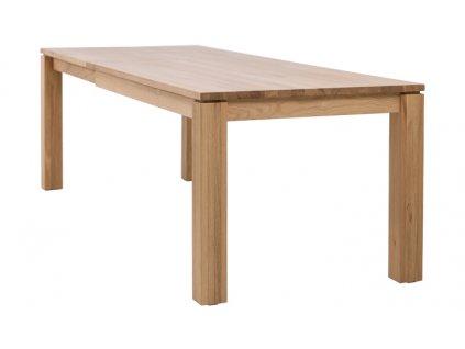 Stůl LUX rozkládací - masiv DUB