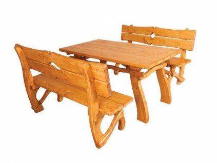 Lavice k zahradnímu nábytku ZN 241, set si skládáte sami