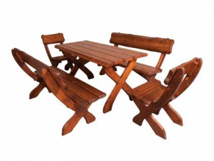Židle k zahradnímu nábytku ZN 230, set si skládáte sami