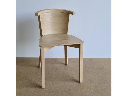 Židle č. 3287 design dýha dub
