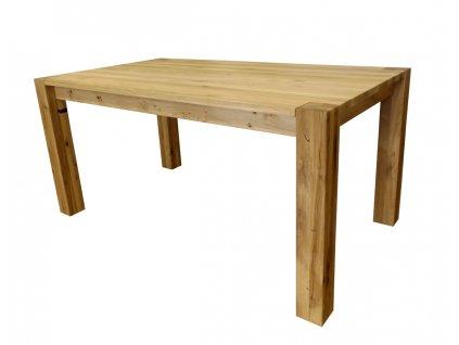 Dubový jídelní stůl KUBA 90×160