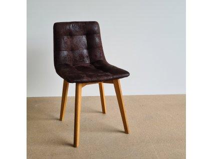 Židle LEO DUB čalouněná