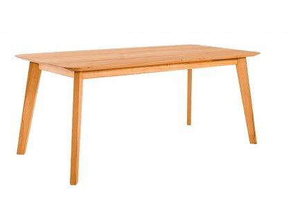 Rozkládací jídelní stůl NOVILA z bukového masivu - 90 x 160