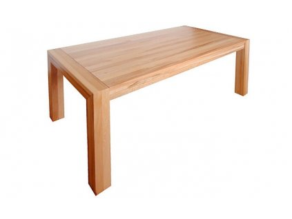 Jídelní stůl GRAND z bukového masivu - 90 x 180