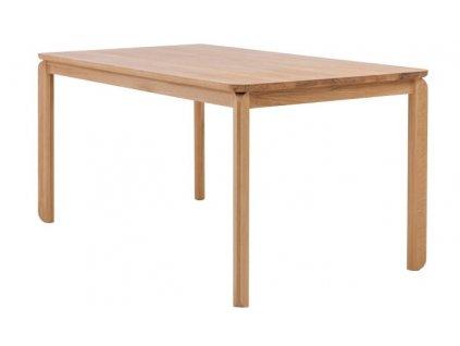 Rozkládací jídelní stůl GOLF z dubového masivu - 90 x 160 / 260 cm