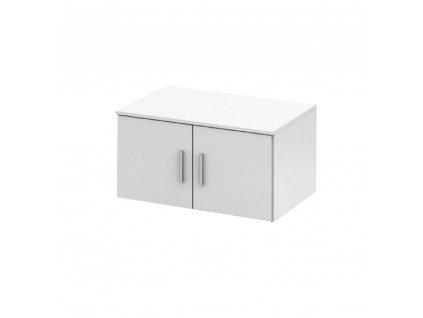 Nástavec na skříň, bílá, NOKO-SINGA 82N
