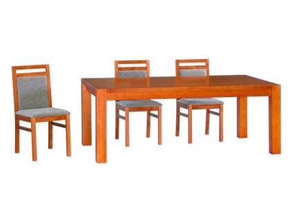 Jídelní stůl CUBIS - masivní BUK