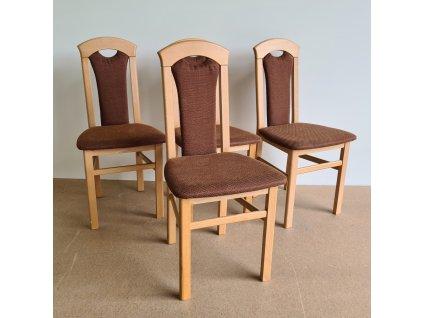 Židle 503 buk čalouněná