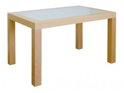 Jídelní stůl NOE s mléčným sklem