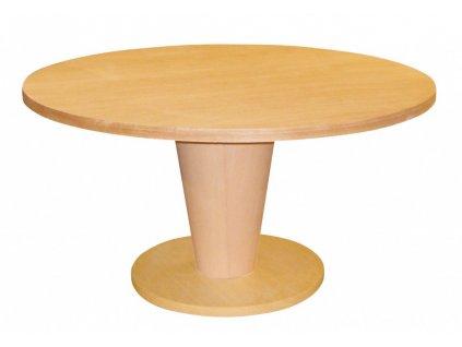 Dýhovaný jídelní stůl RONDO 2
