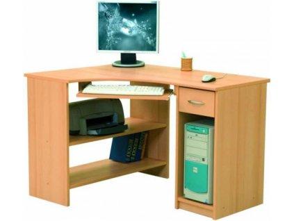Rohový PC stolek LUKY