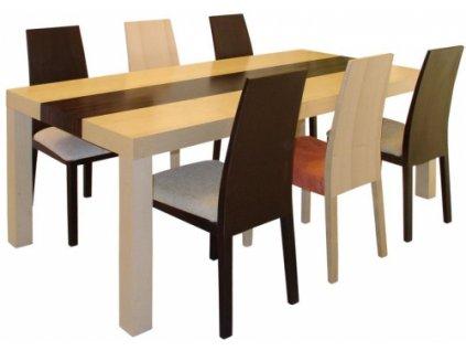 Stůl NOE kombi pevný - rozkládací