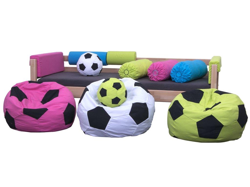 Textilie Fotbal - kopací míč (Barva růžová)