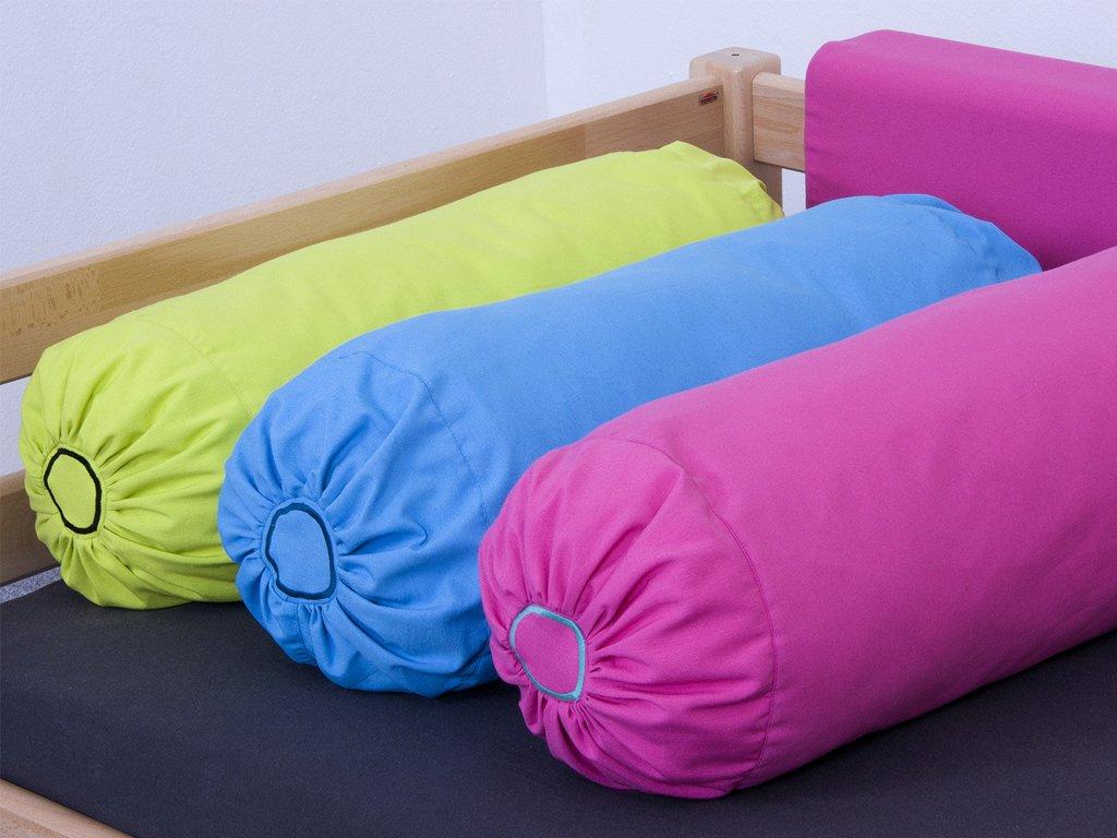 Textilie polštář válec (Barva zelená)
