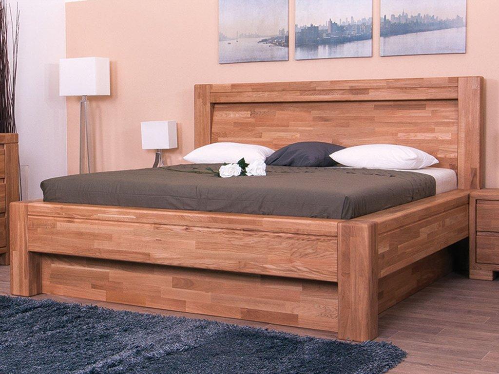 Úložný prostor k posteli Imperia (Dub cink Olejování)