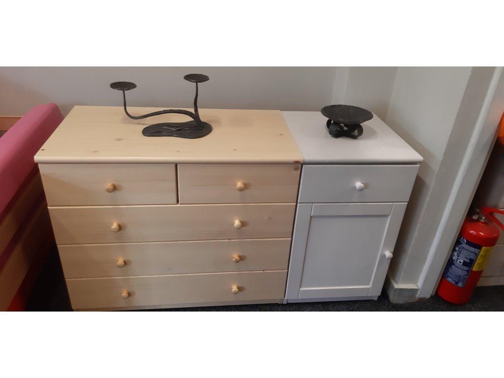 prádelník velký, komoda malá