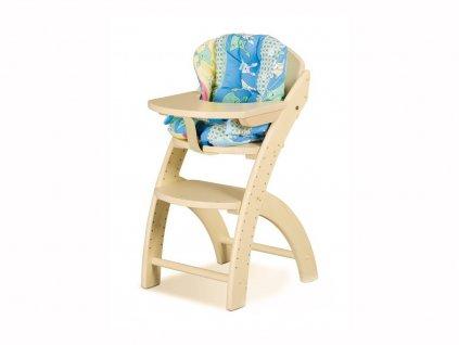 Stoleček k židli Klára 1 (Buk cink Moření)