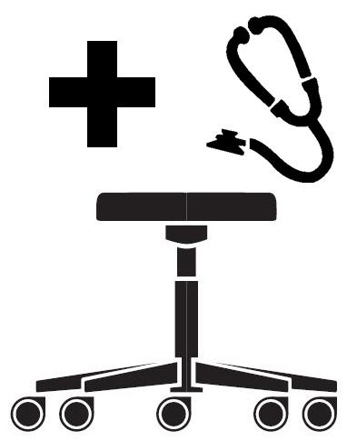 Židle pro lékaře