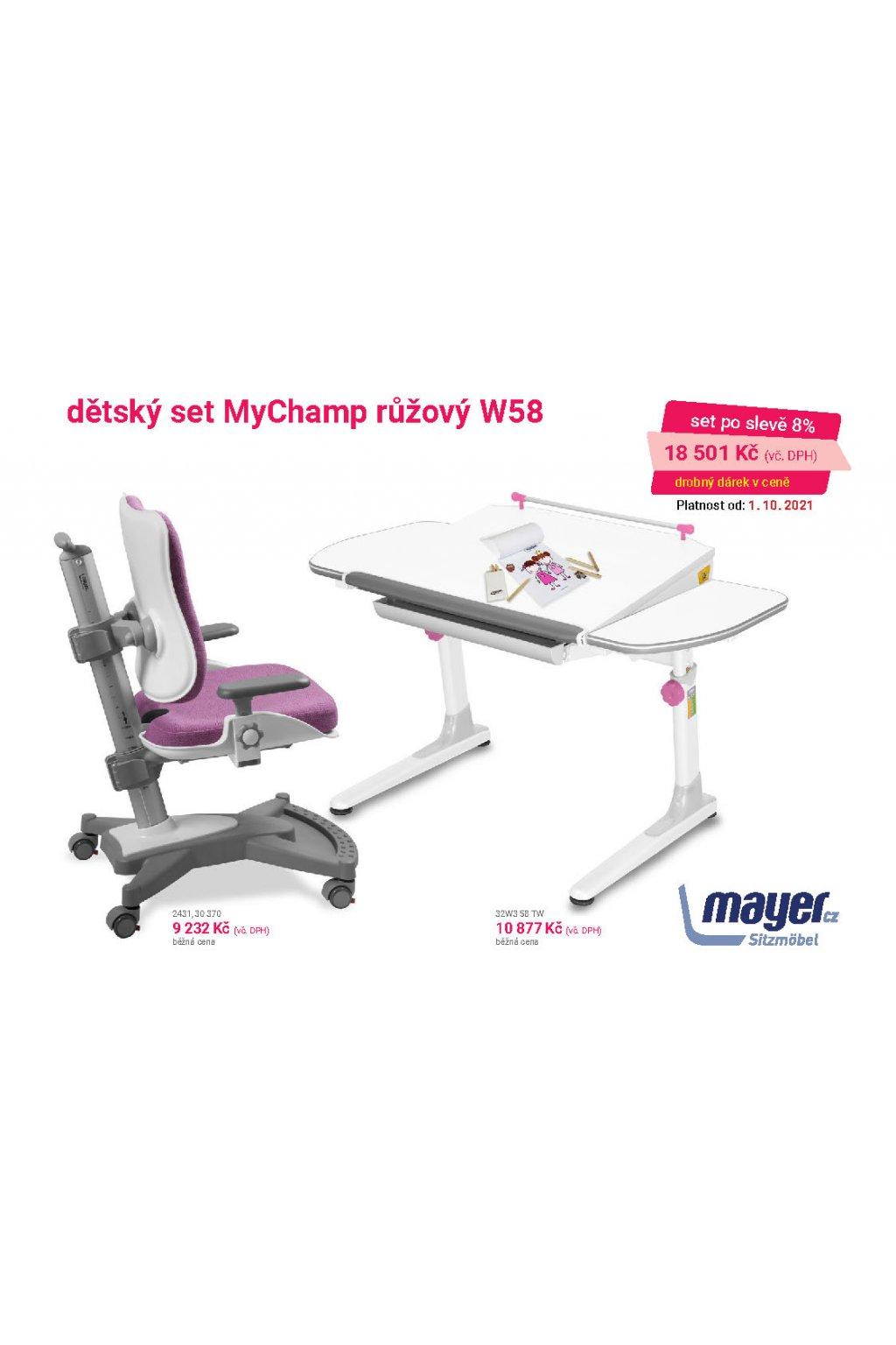 MAYER CZ KIDS set MyChamp růžový W58 CZK 2021 10