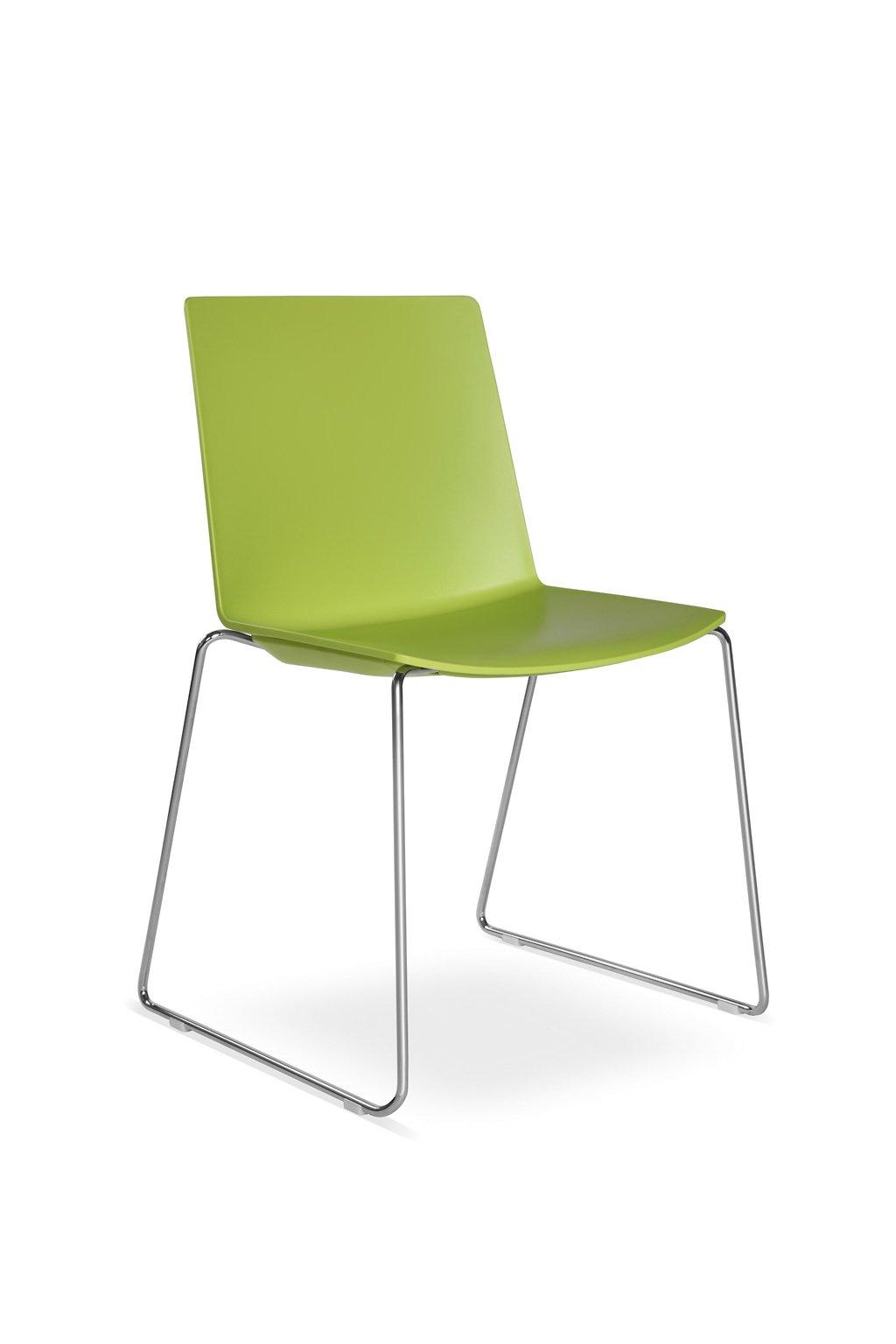Konferenční židle SKY FRESCH 040 - N4 zelená