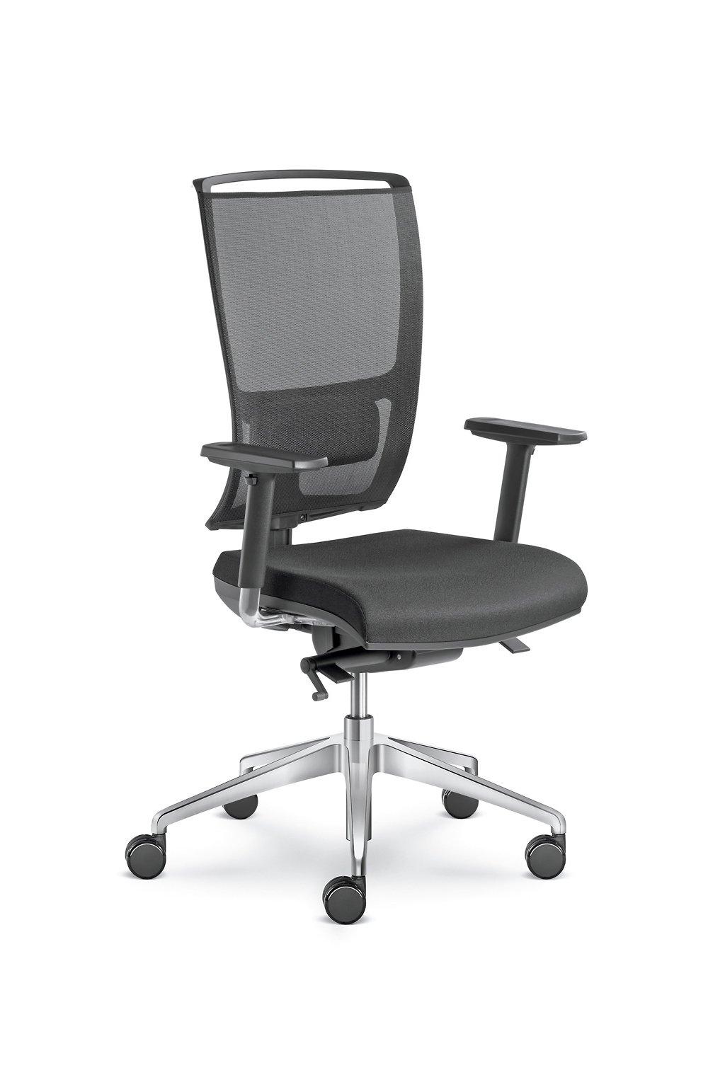 Kancelářská židle LYRA NET 200 SYS - P - BR209