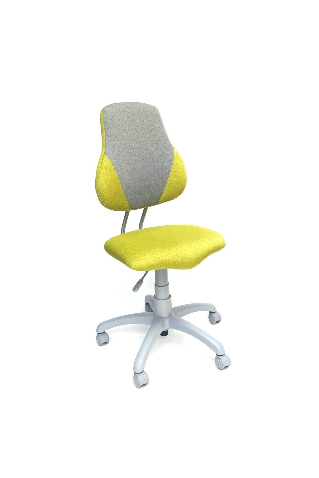Dětská rostoucí židle Alba FUXO V-LINE ZELENÁ/ŠEDÁ
