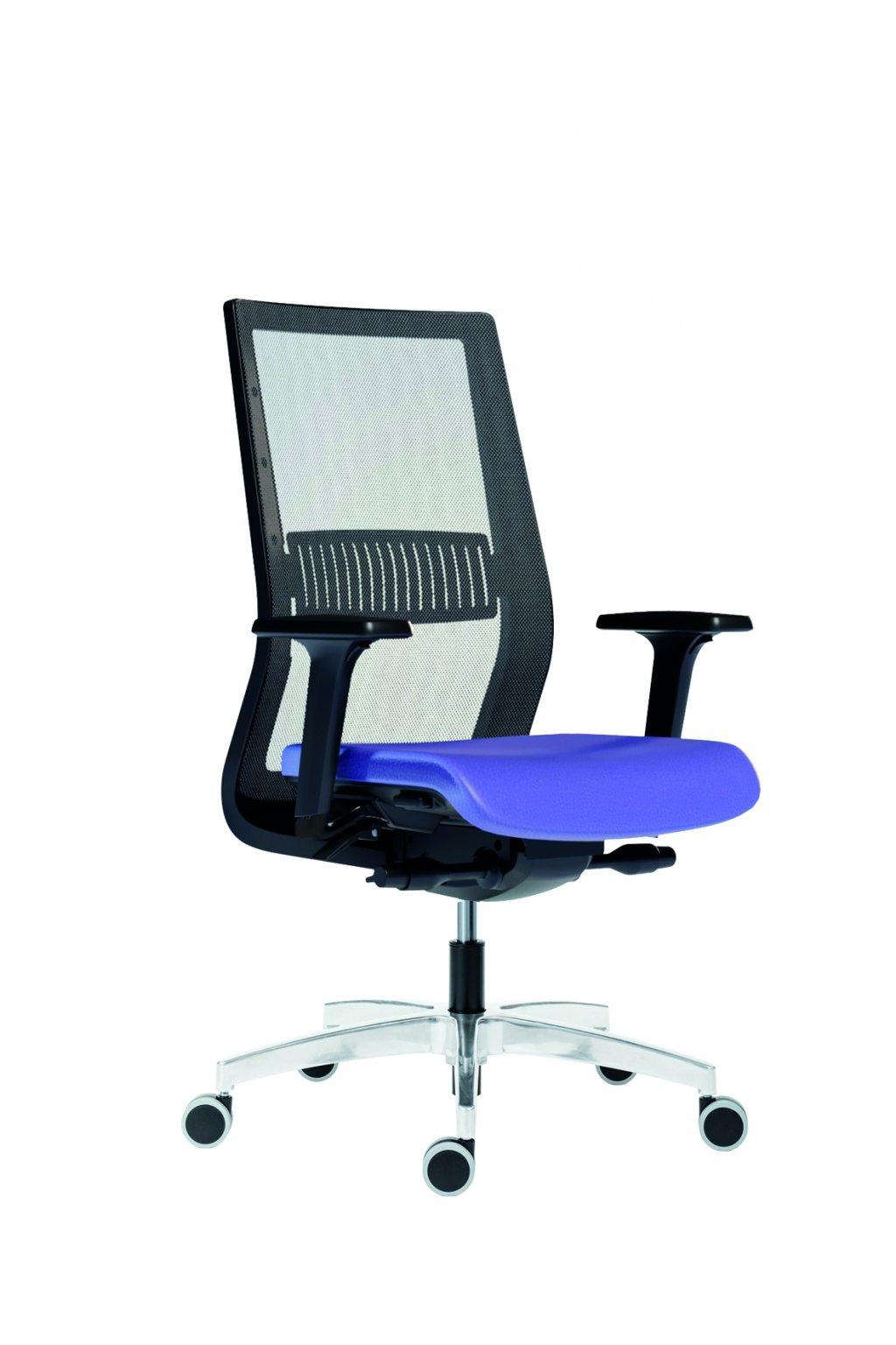 Antares kancelářská židle 1990 SYN TITAN MESCH - SL - AR 40