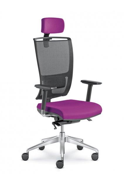 Kancelářská židle LYRA NET 201 SYS - P - BR209