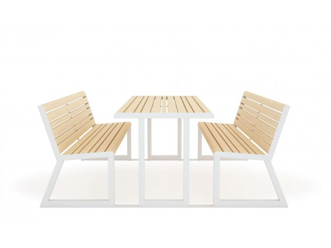 diemmebi urbantime outdoor furniture picnic table benches with linking plates