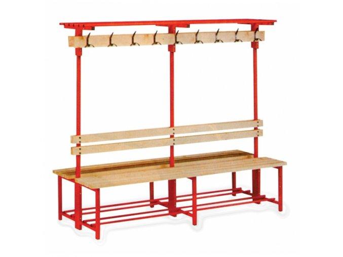 Šatnová lavička s věšákem