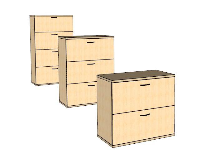 Šuplíková skříňka S8