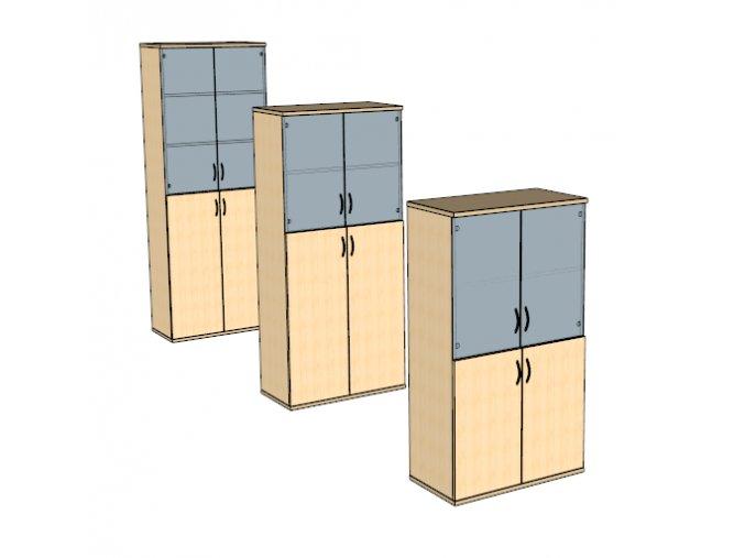 Kombinováná skříň S9