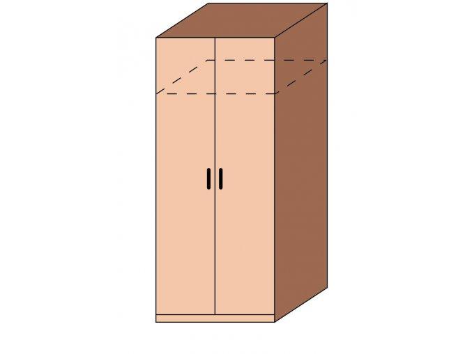 Šatní skříň EFEKT ET-01
