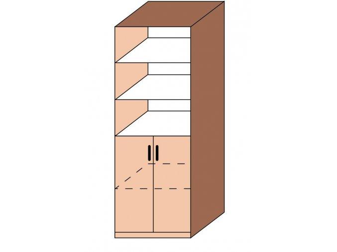 Skříň kombinovaná ET-09