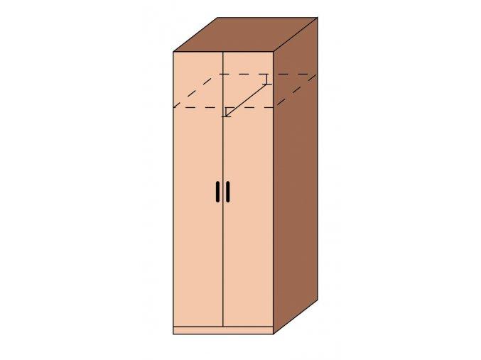 Skříň šatní ET-13