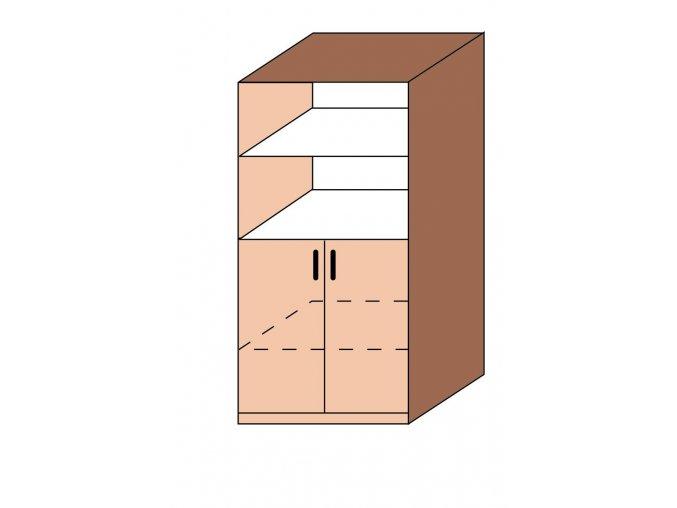 Skříň kombinovaná ET-21