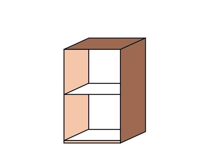 Skříňka úzká otevřená ET-44
